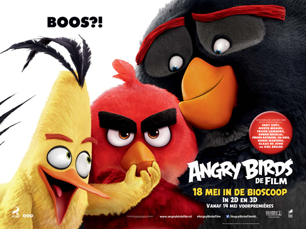 Angry Birds – Nederlandse Première